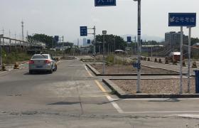 广仁驾校教学环境-训练场